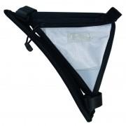 Sacoche de cadre triangle BLANC