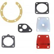 Pochette de 6 joints pour solex 2200 3300 3800 5000 (membrane + siège)