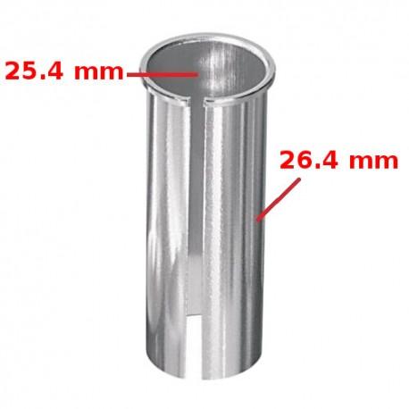 Réducteur adaptateur de tige de selle 25.4 vers 26.4 mm