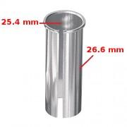 Réducteur adaptateur de tige de selle 25.4 vers 26.6 mm