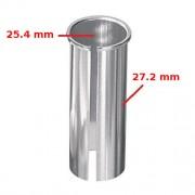 Réducteur adaptateur de tige de selle 25.4 vers 27.2 mm