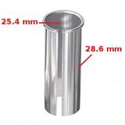 Réducteur adaptateur de tige de selle 25.4 vers 28.6 mm