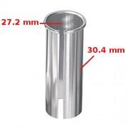 Réducteur adaptateur de tige de selle 27.2 vers 30.4 mm