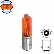 Ampoule 12V 6W BAX9S H6W orange
