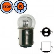 Ampoule 12V 18/5W BAY15D petit globe