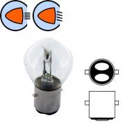 Ampoule halogène 6V 25/25W BA20D