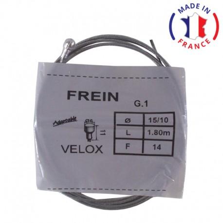 Câble de frein ARRIERE D6 L11 D1.5 L1.8