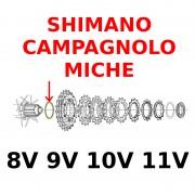Entretoise corps de cassette SHIMANO CAMPAGNOLO MICHE 8V 9V 10V 11V