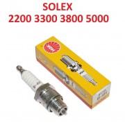 BOUGIE B4H NGK - SOLEX 330 45CC 660 1010 2200 3800 5000 MICRON VELOSOLEX VINTAGE