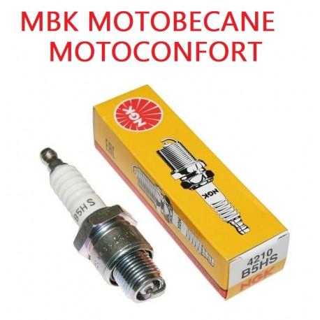 Bougie Ngk B5hs Motobecane Motoconfort Mbk 51 Av88 Av7 Av10 Av85
