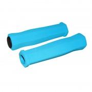Poignée mousse bleu clair 125mm