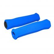 Poignée mousse bleu foncé 125mm
