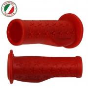 Poignée enfant rouge 90mm ergonomique