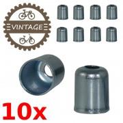 Embouts gaine frein dérailleur vélo cyclomoteur moto (x10)