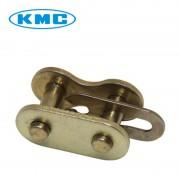 Attache rapide de chaîne KMC 428 renforcé or cyclomoteur