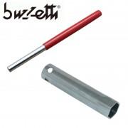 Kit clé à bougie 21mm et manche de clé à bougie BUZZETTI 6.4mm 8mm longueur 150mm