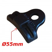 Guide câble simple 55mm