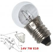 Ampoule 14V 7W solex