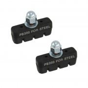 Patins de frein PS300 45mm (paire) pour jante ACIER