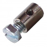SERRE CABLE DIAMETRE 6mm LONGUEUR 9mm VELO CYCLO VIS FREIN CABLE CYLINDRIQUE