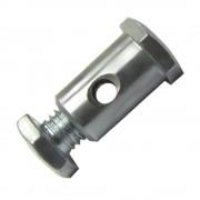 SERRE CABLE FREIN ARRIERE PEUGEOT DIAMETRE 6.8mm LONGUEUR 13.5mm MOBYLETTE 103 AVANT CYCLOMOTEUR ORIGINE