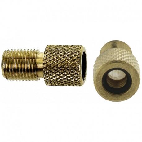 Adaptateur de valve de type PRESTA à type DUNLOP