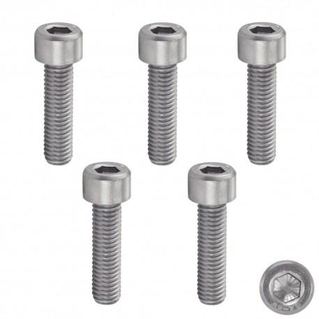 Lot de 50/vis /à cylindre avec six pans creux M4/DIN 912/A2/en acier inoxydable V2/A