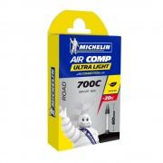 CHAMBRE A AIR MICHELIN 700C x 18-25 (18/25-622) PRESTA 60mm AIRCOMP ULTRALIGHT