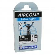 CHAMBRE A AIR MICHELIN 650 x 18-25C (18/25-571) PRESTA 40mm AIRCOMP ULTRALIGHT