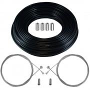 kit câble gaine de frein téflon noir avant arrière vélo route vtt universel