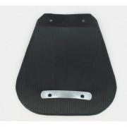 Bavette et support de fixation solex 2200 3300 3800 5000 (garde boue avant noir)