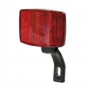 Réflecteur arrière rouge avec patte de fixation