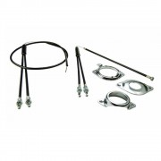 KIT ROTOR CABLE GAINE DE FREIN VELO BMX FREESTYLE FREINAGE COMPLET