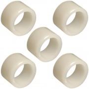 5x entretoise lisse plastique nylon 6.6 vis rondelle axe roulement guidage tube