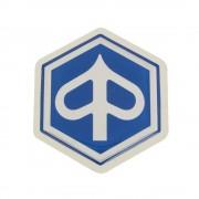 Autocollant sticker PIAGGIO 50 125 tablier avant Ø32mm (RO.574771)