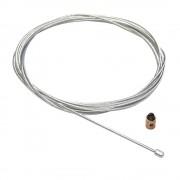 Câble d'accélérateur de gaz universel Dellorto Ø3x3MM Ø1.2MM 2.50M avec serre câble cyclo scoot moto mobylette