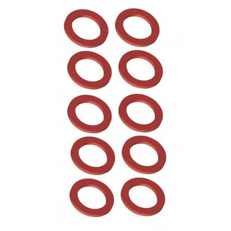 10x JOINT FIBRE 12x17 15x21 20x27 26x34 33x42 SIRIUS EAU FROIDE SANITAIRE ROBINET FLEXIBLE PLOMBERIE ETANCHEITE