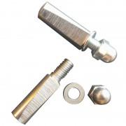 Paire de clavettes D9L40mm écrou borgne