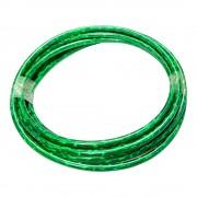 Gaine de frein vert laser irisé au mètre avec insert teflon