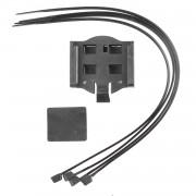 Support de compteur vélo rectangulaire sans fil wireless avec aimant et colliers