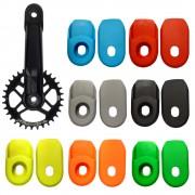 Protection manivelle vélo crank arm pédalier pédale protège embout cache cycle