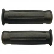 Poignée revêtement type CLB 22mm 24mm 110mm noir cyclo mobylette moto (paire)