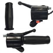 Poignée type PEUGEOT 103 électronique gauche commodo droite accélérateur 22mm 110mm mobylette
