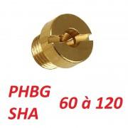 Gicleur carburateur phbg sha 60 a 120
