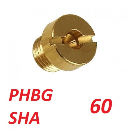 Gicleur carburateur phbg sha 60 a 120