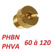 Gicleur carburateur phbn phva 60 a 120